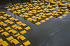 NYC cabs floating in water from Hurricane Sandy (Bettie!) Tags: nyc water yellow flood sandy hurricane cabs theatlantic