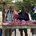 Bancarella di un macellaio in San Sebastian de Buenavista