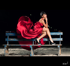 LADY IN RED... [ EXPLORE ] (carolina hdez1) Tags: