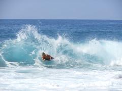 Extreme boogy boarding (kahunapulej) Tags: ocean beach island hawaii big surf pacific board wave kona breaker kailua boogy kahunapulej kahunapule