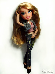 Bratz Next Top Model Cycle 10: Audition - Candace (Carol Parvati ™) Tags: doll candace talking bratz cloe mgae carolparvati