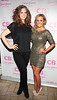 Emma O Farrell and Marissa Carter pictured at the launch of Cocoa Brown Tan by Marissa Carter at Residence Private Members Club,Dublin..Pix: Brian McEvoy