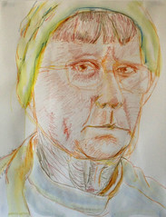 2013.01.16 Worried Likeness (Julia L. Kay) Tags: sanfrancisco portrait woman selfportrait art water face female pencil self paper sketch san francisco artist arte julia kunst autoretrato kay woody daily dessin peinture portraiture 365 transparent crayon everyday dibujo dpp artista stabilo coloredpencil artiste neocolor lefthanded künstler ambidextrous soluble righthanded neocolorii watersoluble wronghanded nondominanthand inktense watersolublepencil stabilotone watersolublecrayon juliakay julialkay dailyportraitproject