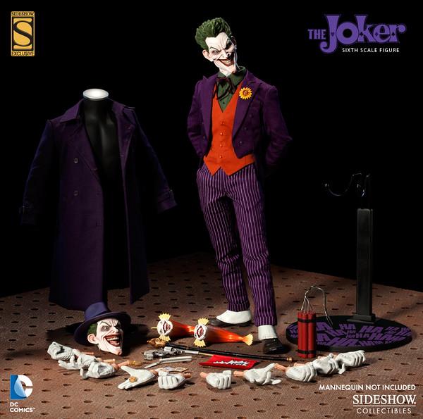 DC Comics × Sideshow 1/6th scale 小丑