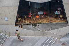 Melbourne - Hamer Hall (Leo in Canberra) Tags: family cafe australia melbourne victoria southbank artscentre hamerhall xmas2012