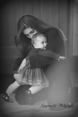 Nothing stronger than the love of a mother and her child (Gigi1122) Tags: portrait blackandwhite bw baby love kids hug child mother