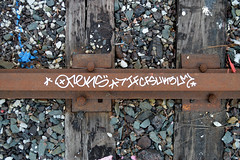 DSC_0294 v2 (collations) Tags: toronto ontario graffiti tags tagging railways railroads oreks railtags