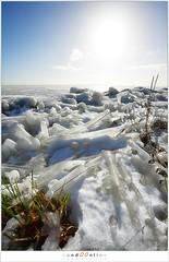 Kuiend ijs (5D043519) (nandOOnline) Tags: winter berg nederland natuur vuurtoren marken landschap noordholland ijselmeer ijs vorst markermeer vriezen ijsschotsen kruiendijs dooien paardvanmarken