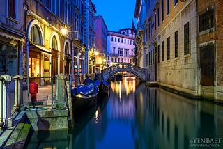 Venice - Dawn at Bacino Orseolo