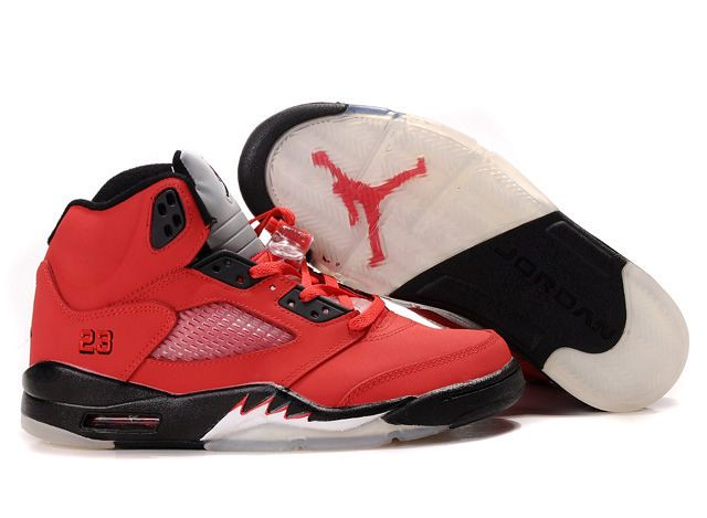 new product 9cc85 c7659 boy nike jordan retro 5 raging bull pack red black shoe (jorlly) Tags