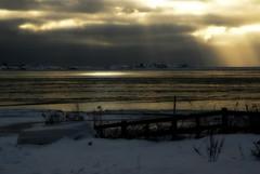 Let there be light (Basse911) Tags: winter light beach strand suomi finland islands boat playa balticsea hanko nordic february ranta hang helmikuu