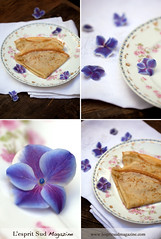 Crpes Suzettes (Scrumptious Venus) Tags: french recipe dessert sweet crepe gerard limoges gda crepesuzette antiquefrenchplate lachandeleur lespritsudmagazine wwwlespritsudmagazinecom dufraisseix morelabbot