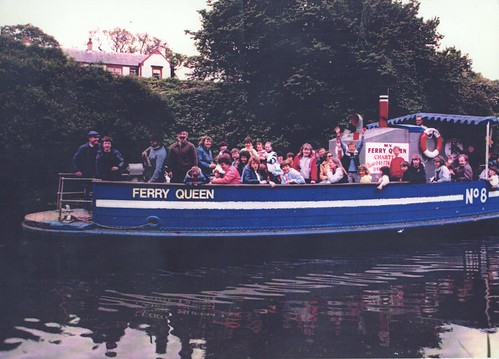 Ferry Queen at Cadder 1983