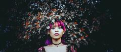 Alixandrea (alixandreaolarte) Tags: garden vintage unicorn hair purplehair