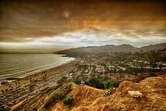 Fire Day on the Bluffs (Peter-Duke) Tags: hdrefexpro hdr sandfire