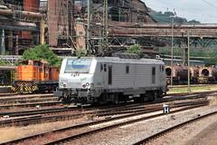 37002 (yann.train) Tags: bb37000 train railway marathon prima akiem 37000 37002 bb37002 alstom lectrique wagontorpille vlklingen