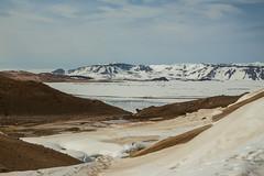Krafla Viti Crater 17 (sarahmonious) Tags: kraflaviticrater kraftla viti myvatn kraftlavolcano volcanocrater crater hverir snow route1iceland route1 ringroad iceland iceland2016 icelanding2016 traveling