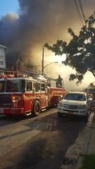 Raging five home fire on Benzinger Avenue on Staten Island's north Shore. Thank you FDNY!  #FDNY #NYCFire #Shaolin #SINY #SINYFire #StatenIsland #StGeorge #BenzingerAve #JerseyStreet #AlaneGolden #eyewashdesign #NYC #August #2016 (eyewashdesign: A. Golden) Tags: siny stgeorge nyc 2016 alanegolden jerseystreet fdny benzingerave shaolin nycfire august eyewashdesign statenisland sinyfire