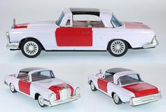 Tinplate MB Rijkspolitie Korea (adrianz toyz) Tags: toy model police car tinplate mercedesbenz korea rijkspolitie holland netherlands 250se adrianztoyz