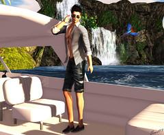Post Alter (scarldarkmatterportal) Tags: alter men clothes male menswear sl second life style summer