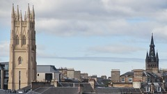 Glasgow views (rbjag71) Tags: church tower steeple glasgowuniversity glasgowwestend architecture historic canonpowershot sx610hs