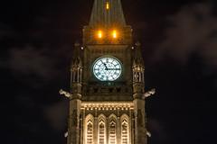 Night Parliament : August 4, 2016 (jpeltzer) Tags: ottawa parliament parliamenthill night peacetower