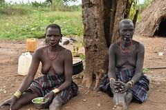Mursi women (4) (Prof. Mortel) Tags: ethiopia omovalley mursi