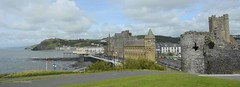 Aberystwyth (Zoe K Williams) Tags: aberystwyth aber wales welsh town buildings castle panorama old college pier seaside victorian