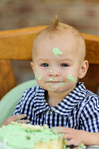 Carson's 1st Birthday