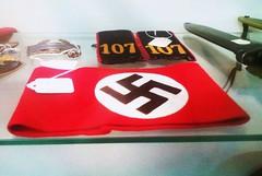 Original Swastika Armband (PhotoJester40) Tags: indoors inside swastika swastikaarmband worldwar2 antique collectible retro history historical
