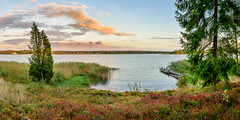 Counting Down (Peter Vestin) Tags: nikondf sigma35mmf14dghsmart siruin3204x siruik30x adobecreativecloudphotography topazlabscompletecollection herrn skattkrr karlstad vrmland sweden vnern nature landscape seascape sunset panorama