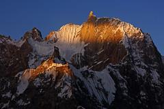 Karpogoro: Spotlight on Pamshe Peak (Shahid Durrani) Tags: biafo glacier karakorams gilgit baltistan pakistan