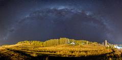 Va lctea en el mes de agosto. Vista en Junn de los Andes - Neuqun. (Nachojandes) Tags: milkyway nightscape patagonia junin de los andes canon 70d night va lctea panormica nocturna