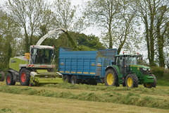 Claas Jaguar 900 SPFH filling a Dooley Silage Trailer drawn by a John Deere 6150M Tractor (Shane Casey CK25) Tags: claas jaguar 900 spfh filling dooley silage trailer drawn john deere 6150m tractor jd green carraignavar silage16 silage2016 grass grass16 grass2016 winter feed fodder county cork ireland irish farm farmer farming agri agriculture contractor field ground soil earth cows cattle work working horse power horsepower hp pull pulling cut cutting crop lifting machine machinery nikon d7100 self propelled forage harvester tracteur traktori trekker traktor ciągnik collecting crops collect