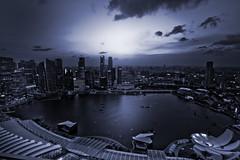 IMG_7680 (Kajino6) Tags: singapore marinabaysands night nightview sanset sin sg