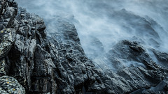 Misty Rocks (Walther Wer) Tags: bornholm denmark dnemark heiligdomsklipperne meer ostsee langzeitbelichtung long wasser water stone granit ndfilters outdoor felsen ozean fog nebel