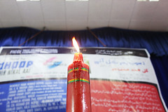 The Flame of Urdu Poetry (Mayank Austen Soofi) Tags: delhi walla ghalib academy the flame urdu poetry it is custom start an soiree by lighting candle apparently then passed from one poet another they get ready read out their verses… saw this dreamlike scene last night… somewhere