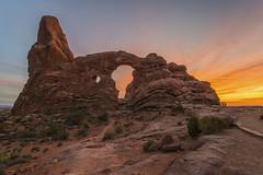 _DSC5783 HDR (John Troxler) Tags: arches national park utah sunset colorful red rock