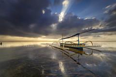 Ray & Reflections (Pandu Adnyana Photography Tour) Tags: pantai karang cloud sunrise hut motion long exposure baliphotographytour baliphotographyguide balitravelphotography balilandscapephotography balilandscapetour bali indonesia sanur