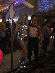 Star Trek  convention 2016-11 (GoFreak Media) Tags: lasvegas startrek star trek convention gofreakmedia data spock klingon thenextgeneration kirk jonjonthephenomenon