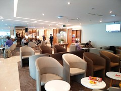 Main lounge space (A. Wee) Tags: jakarta  indonesia  airport  cgk soekarnohatta terminal3 garudaindonesia lounge