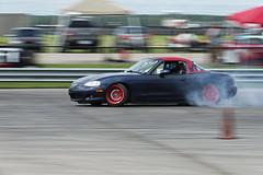 Drifting Miata (Find The Apex) Tags: mazdamx5miata mazdamiata eunosroadster mazdaroadster nolamotorsportspark nodrft drifting drift cars automotive automotivephotography