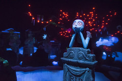 Sally Joins the Haunted Mansion Holiday (Cakvala-SC) Tags: nightmare christmas holiday disneyland resort theme park california darkride dark jack sally skellington haunted mansion new orleans