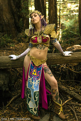 Carly 'Slave Zelda' (SeanLaine) Tags: slave zelda leia star wars legend loz twilight princess crossplay cosplay mashup mash up cross