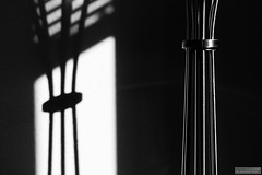 At home (Anneke Jager) Tags: annekejager blackandwhite zwartwit monochroom black fineart shadow shadows monochrome