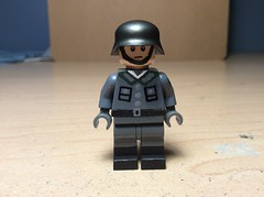 Walloon Legion Soldier. (Kalev123) Tags: stahlhelm belgium germany minifigure painted custom foreign legion walloon nazi lego