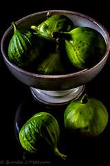 Figs (Culinary Fool) Tags: 18135mm culinaryfool italianhoneyfigs figs reflection mygarden stilllife green 2016 fruit september brendajpederson