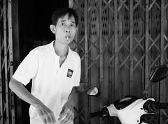 Smoking Man at Wian Wong Jai Railway (tord_remme) Tags: street gr ricoh man urban human candid surprise smoke cigarette bnw bw blackandwhite