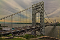 George Washington Bridge (MoArt Photography) Tags: berndspeck georgewashingtonbridge newjersey newyork hudsonriver