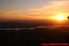Canberra - Sunset from Mount Ainslie (soyouz) Tags: ainslie aus australiancapitalterritory australie geo:lat=3527048175 geo:lon=14915791927 geotagged mountainslie sunset canberra australiel